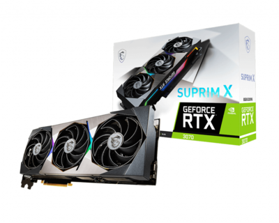 MSI GeForce RTX 3070 SUPRIM X 8GB 256-Bit GDDR6 Video Card
