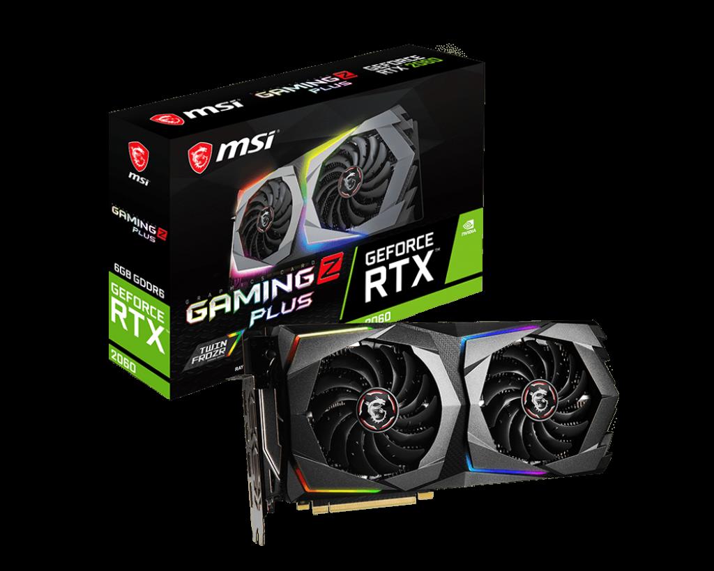 MSI GeForce RTX 2060 GAMING Z PLUS 6GB GDDR6 Video Card
