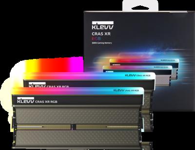 KLEVV CRAS XR RGB 16GB (2 x 8 GB) 4000mhz DDR4 Memory