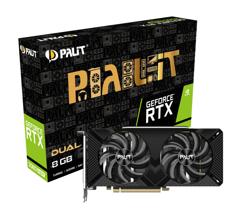 PALIT GeForce® RTX 2060 SUPER DUAL 8GB GDDR6 256bit Video Card