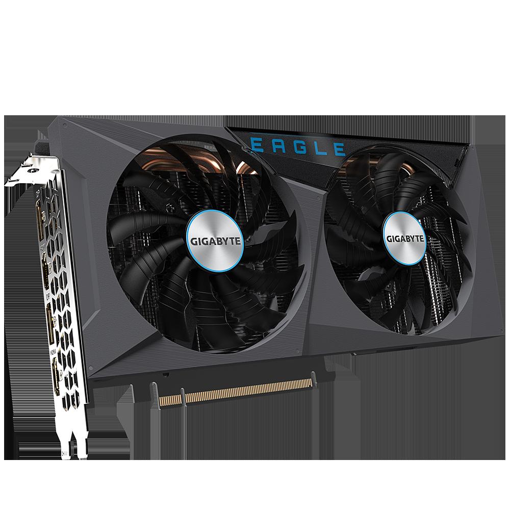 GIGABYTE GeForce RTX 3060 TI EAGLE OC 8GB 256-Bit GDDR6 PCI Express 4.0 HDCP Ready Video Card