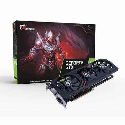 COLORFUL IGame Geforce 1660 TI Ultra 6G-V GDDR6 Video Card (Requires PC BUILD)