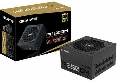 Gigabyte GP-P850GM (80 Plus Gold 850W, Modular, Smart Fan, Smart Power Protection, Power Supply)