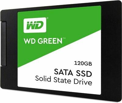 WESTERN DIGITAL WD GREEN 120GB SSD 3D NAND