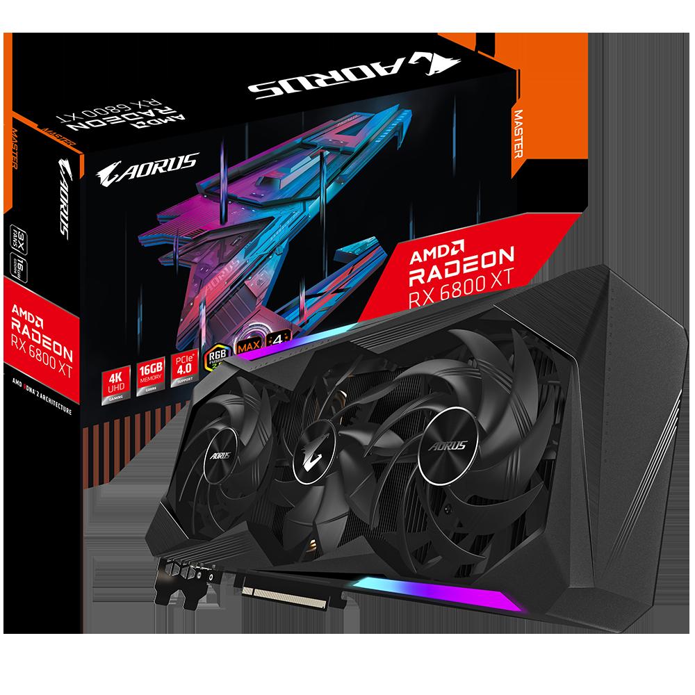 AORUS Radeon™ RX 6800 XT MASTER 16GB DDR6 256 bit Video Card