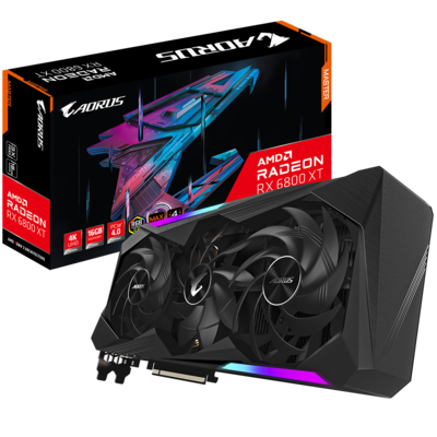 AORUS Radeon™ RX 6800 XT MASTER 16GB DDR6 256 bit Video Card