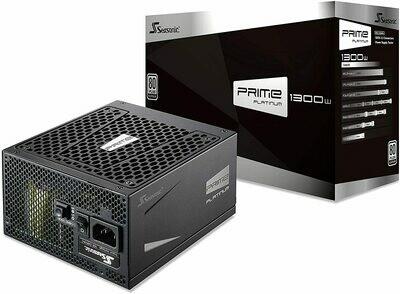 Seasonic PRIME 1300 Platinum SSR-1300PD 1300W 80+ Platinum ATX12V & EPS12V Full Modular 135mm FDB Fan Power On Self Tester Power Supply