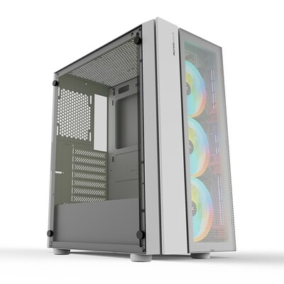 iForgame FTW Tempered Glass Case ( Free 3x ARGB 120mm Fans )