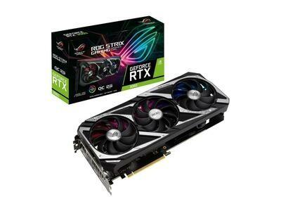 ASUS ROG Strix GeForce RTX™ 3060 OC Edition 12GB GDDR6 192-Bit PCI Express 4.0 HDCP Ready Video Card