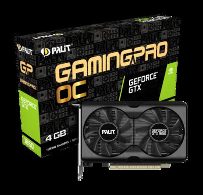 PALIT GeForce® GTX 1650 GP OC GDDR6 128-bit Video Card