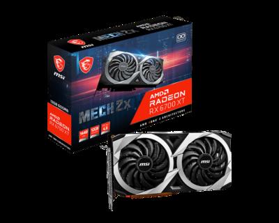 MSI Radeon™ RX 6700 XT MECH 2X 12G OC Video Card
