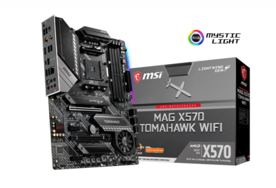 MSI MAG X570 TOMAHAWK WIFI AM4 AMD X570 SATA 6Gb/s ATX AMD Motherboard