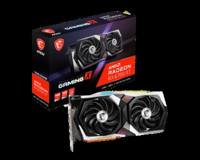 MSI Radeon™ RX 6700 XT GAMING X 12G Video Card