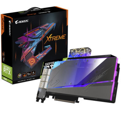AORUS GeForce RTX™ 3080 XTREME WATERFORCE WB 10GB 320-Bit GDDR6X Video Card