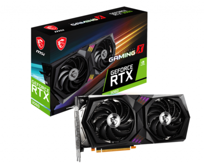 MSI GeForce RTX 3060 GAMING X 12GB 192-Bit GDDR6 PCI Express 4.0 HDCP Ready Video Card