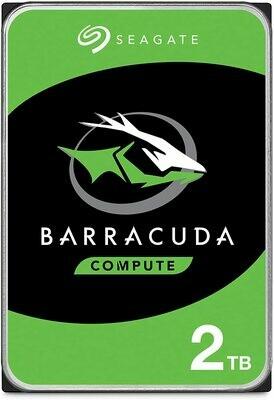 "Seagate BarraCuda 2TB 7200 RPM 64MB Cache SATA 6.0Gb/s 3.5"" Hard Drive"