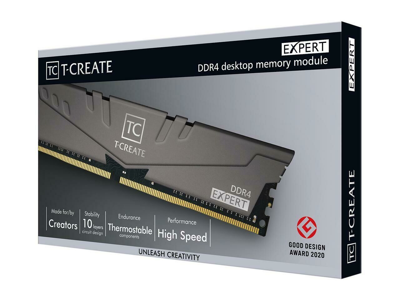 TEAMGROUP CREATE EXPERT 16GB (2 x 8GB) DDR4 DRAM 3600MHz CL18 GAMING MEMORY Kit