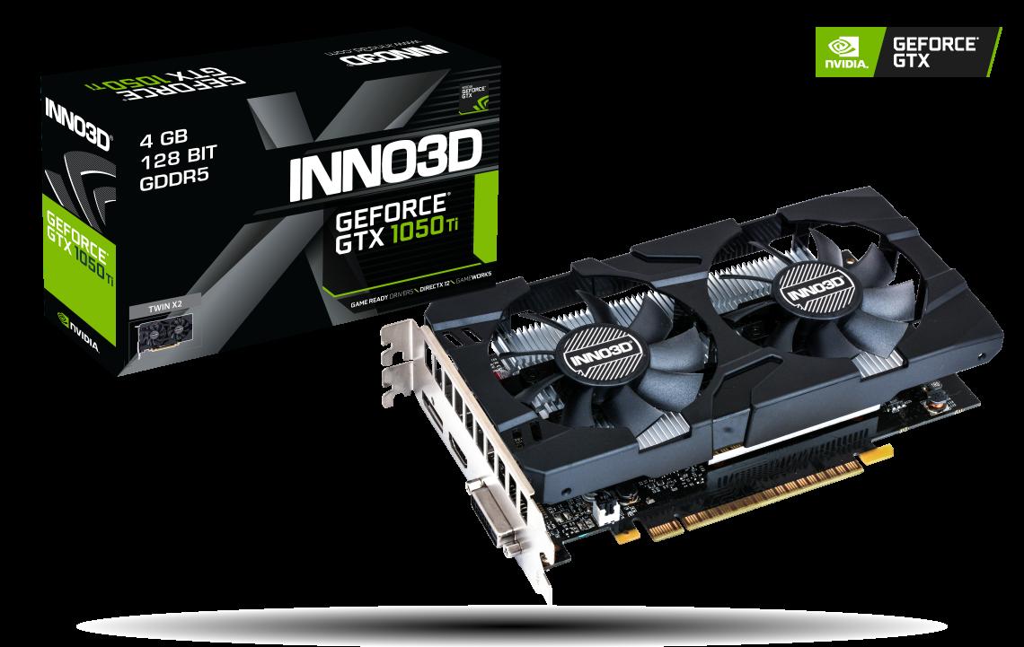 INNO3D GEFORCE GTX 1050 TI X2 4GB GDDR5 Video Card