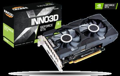 INNO3D GEFORCE GTX 1650 GDDR6 TWIN X2 OC 128-bit Video Card