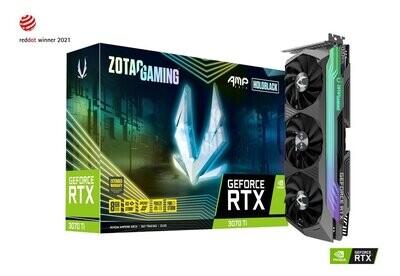 ZOTAC GAMING GeForce RTX 3070 Ti AMP Holo 8GB GDDR6X Video Card