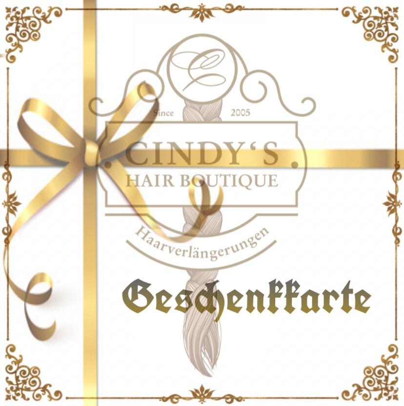 Geschenkkarte für Online-Shop