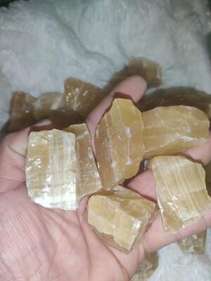 Rough Honey Calcite
