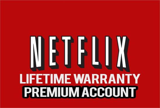 Lifetime Netflix Account -75% OFF