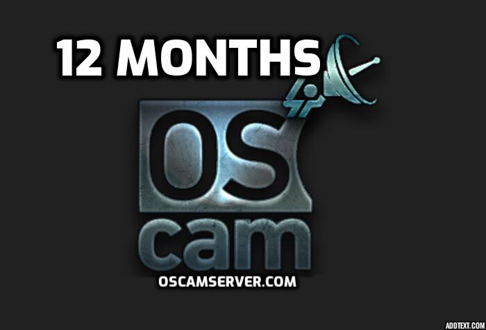 Oscam 12 Months