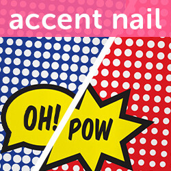 Accent Nail Punch Line