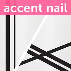 Accent Nail Mix & Match (Transparente)