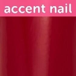 Accent Nail Cranberry Glaze