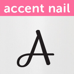 Accent Nail Initial A (Transparente)
