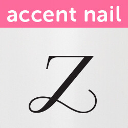 Accent Nail Initial Z (Transparente)