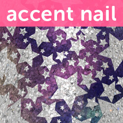 Accent Nail Star Crossed