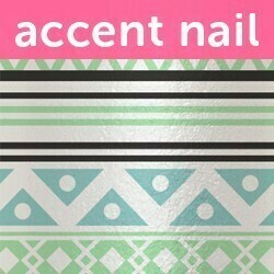 Accent Nail Festival Chic