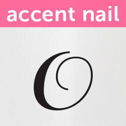 Accent Nail Initial O (Transparente)