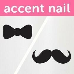 Accent Nail Fine & Dandy (Transparente)