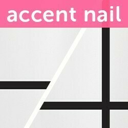 Accent Nail In Line (Transparente)