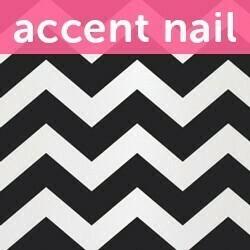Accent Nail Fast Forward (Transparente)