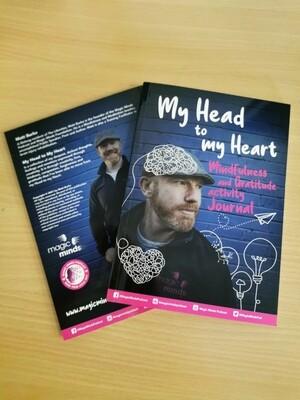 My Head to my Heart Mindfulness & Gratitude journal