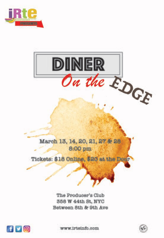 Diner on the Edge March 20-28