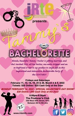 Tammy's Bachelorette - SPECIAL VALENTINE'S DAY SHOW