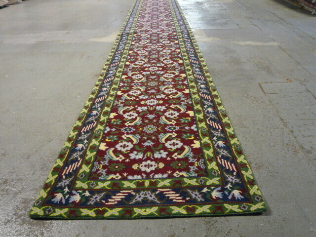 Nepalese traditional designed runner 10.30 x .88 Final Reduction