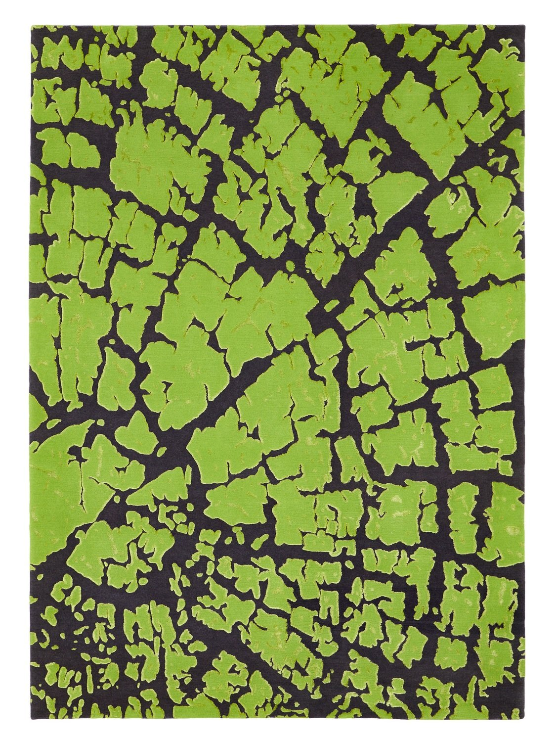 Nepalese Tree Trunk design in wool and bamboo size 240 x 170 Final Reduction