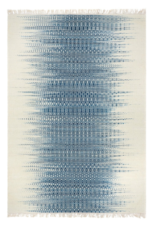 Indian Kelim blue grey  size 240 x 170 Final Reduction