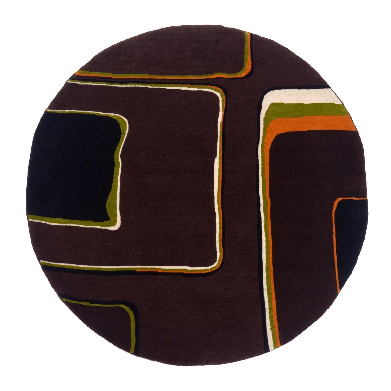 Nepalese Majori circle in wool size 120 x 120 Final Reduction.