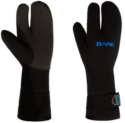 BARE 7mm K-Palm Three-Finger Mitt