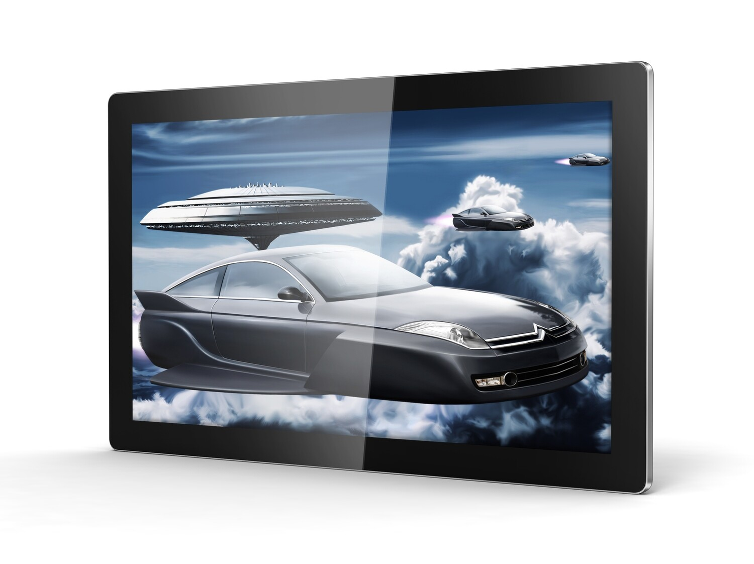 Android Digital Advertising Screen