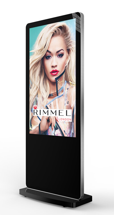 Android Freestanding Digital Poster & Video Player Unit