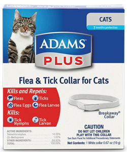 Adams Plus Flea Collar Cat & Kitten